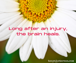 It's never too late for the brain to heal from TBI, even more than a decade later. In time for mental health awareness month, I learned this lesson.