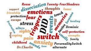 In dissociative identity disorder (DID) people experience switches from one identity to another. What triggers these DID switches? Learn about them here.