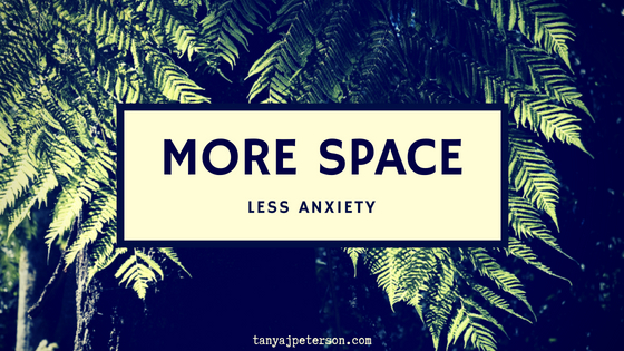 Being anxious involves thoughts, feelings, and physical sensations. You have quiet spaces wihin you. Learn to use them to stop being anxious.