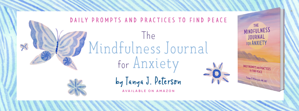 The Mindfulness Journal for Anxieyt is a book that guides you to a life with less anxiety and more peace. Get anxiety out of your head and onto paper.